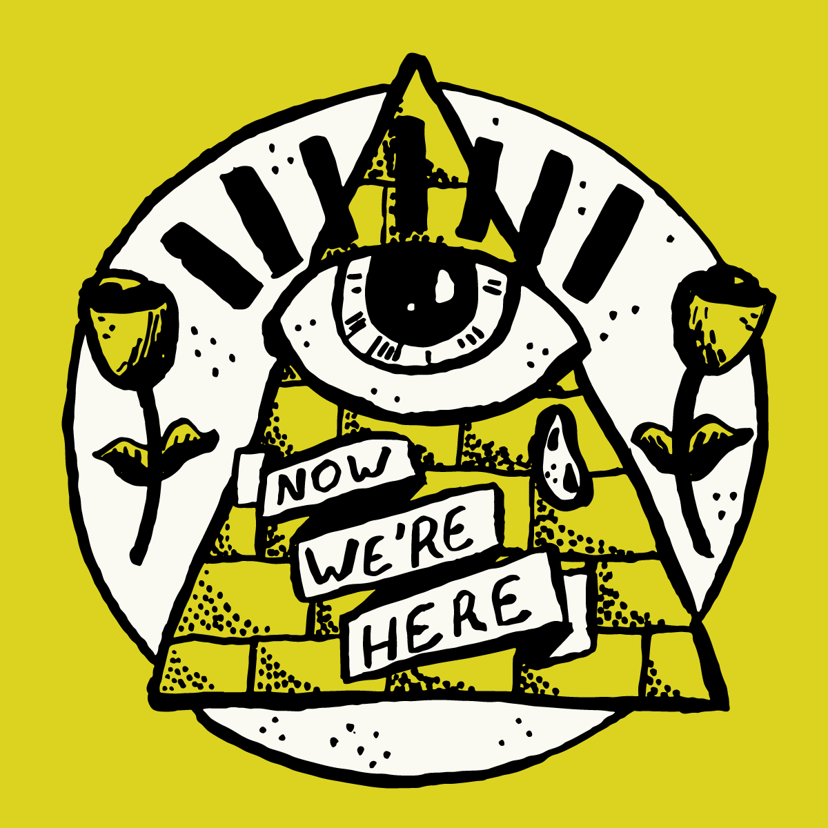 third eye pyramid illustration